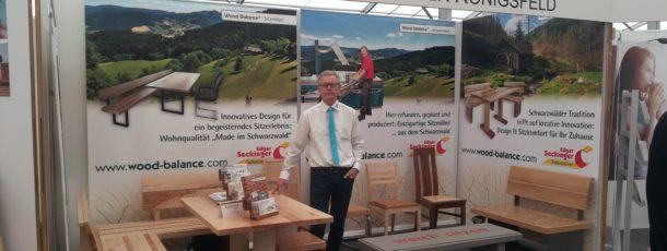 Wood Balance® Sitzmöbel auf der Südwestmesse in VS-Schwenningen